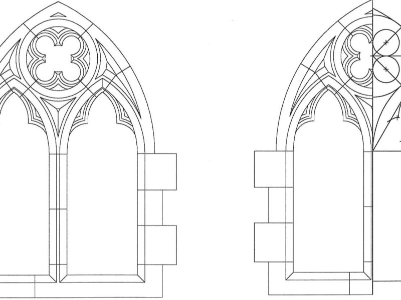 Gothic Tracery Construction